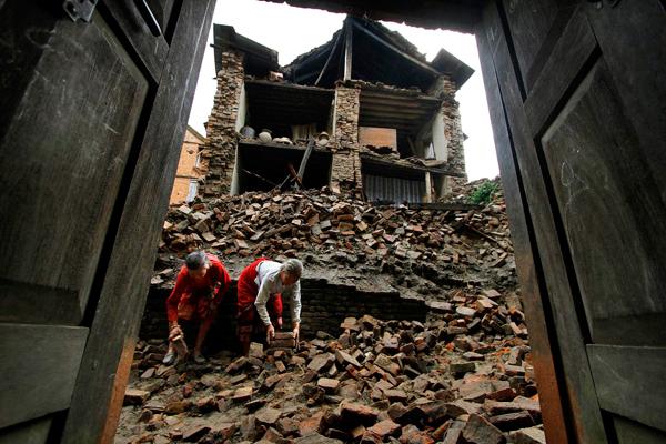زلزله در نپال