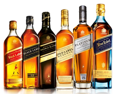 Johnnie-Walker-Selection
